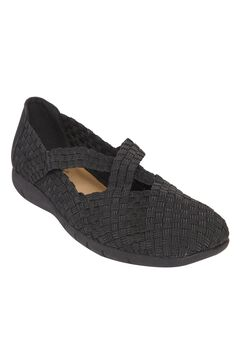 Heleena Flat by Comfortview®, BLACK, hi-res