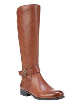 Jodee Wide Calf Boots by Naturalizer®, BANANA BREAD, hi-res