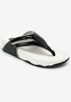 The Sporty Thong Sandal by Comfortview®,