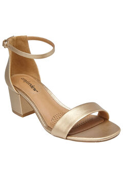 Orly Sandals by Comfortview®, GOLD, hi-res