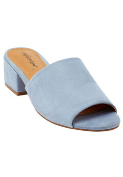 Basha Mules by Comfortview®, CHAMBRAY, hi-res