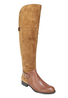 January Wide Calf Boots by Naturalizer®, CAMEL BROWN, hi-res