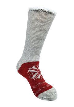 Heart Snowflake Thermal Sock Socks,
