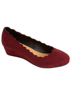 The Costello Pump by Comfortview®, BURGUNDY