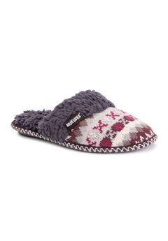 Frida Scuff Slipper by Muk Luks,