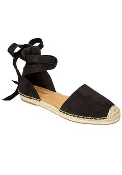 Shayla Flats by Comfortview®, BLACK