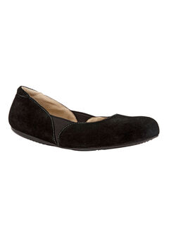 Norwich Flats by SoftWalk®, BLACK SUEDE, hi-res