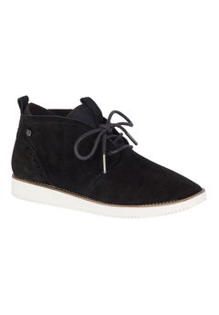 Chowchow Chukka Boots by Hush Puppies®, BLACK SUEDE, hi-res