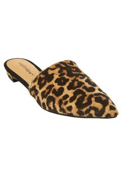 The Marley Mule by Comfortview®, LEOPARD