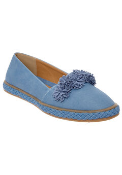 Luca Flats by Comfortview®, DENIM, hi-res