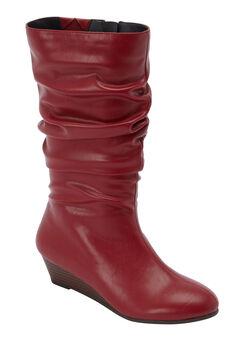 The Dori Boot by Comfortview®, CRIMSON, hi-res