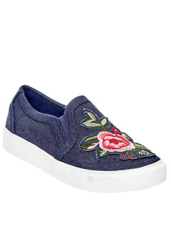 Skyla Sneakers by Comfortview®, DARK DENIM