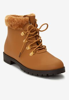 The Vylon Hiker All-Weather Bootie by Comfortview®, TAN