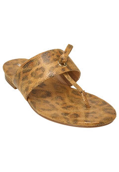 Batina Sandals by Comfortview®, ANIMAL, hi-res