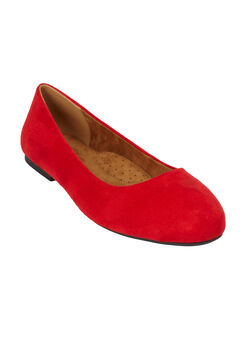 The Beth Flat by Comfortview®, BRIGHT RUBY