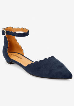 The Amber Flat by Comfortview®, NAVY