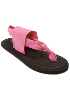 The Leni Soft Footbed Sandal by Comfortview®, PINK