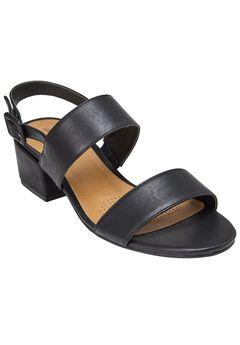 Etta Sandals by Comfortview®, BLACK, hi-res