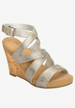 Silver Plush Wedge by Aerosoles®,