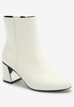 The Jules Bootie by Comfortview®, WHITE