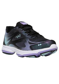 Devo Plus 2 Sneakers by Ryka®, BLACK PURPLE, hi-res