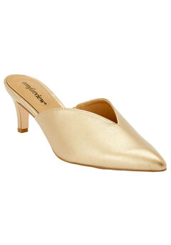 The Angeline Mule by Comfortview®, GOLD, hi-res