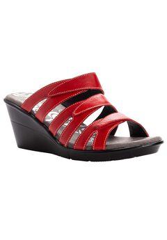 Lexie Wedge Slide Sandal ,