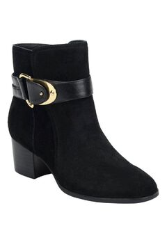 Nadra Booties by Sofft®, BLACK SUEDE, hi-res