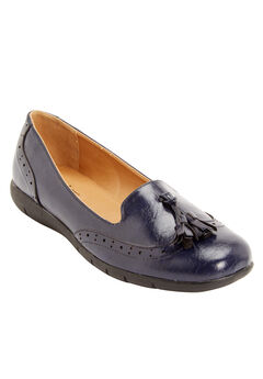 The Aster Flat by Comfortview®, NAVY, hi-res