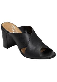 High Alert Sandal by Aerosoles®, BLACK LEATHER, hi-res