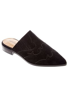 Siloh Mules by Comfortview®, BLACK, hi-res