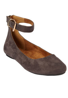 The Leia Flat by Comfortview®, SLATE GREY