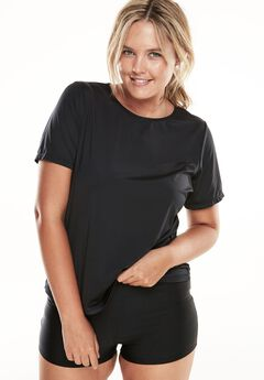 The Swim Tee, BLACK