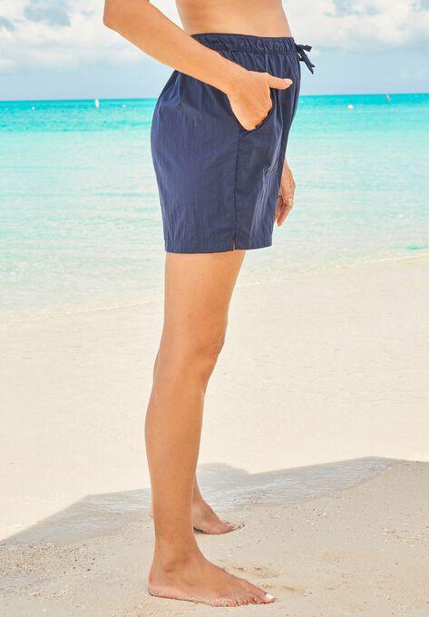 5cbf821425 Taslon® Swim Shorts| Plus Size Swim Bottoms | Woman Within
