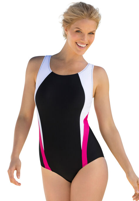8719031ee1b19 Colorblock maillot by Swim 365®