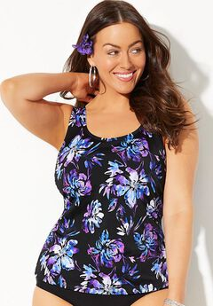 bed992fe42 Women's Plus Size Bust Support Swimsuits | Woman Within