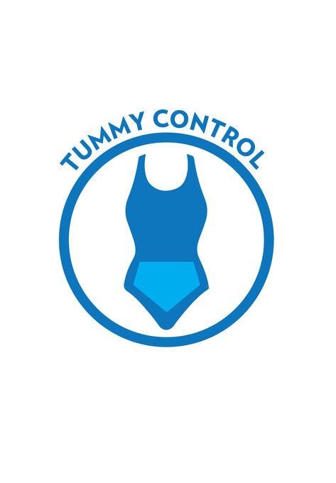 31dcdc5dbb0 Beaded Macramé Swimdress with Tummy Control