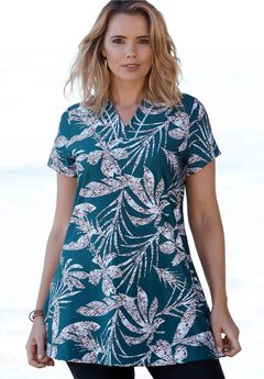 Swim Tunic, MEDITERRANEAN PALM