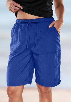 Taslon® Swim Board Shorts, DEEP BLUE, hi-res