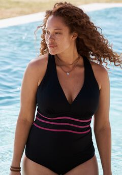 Multi-Strap Active Swimsuit,