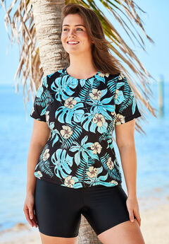 The Swim Tee, TROPICAL FLORAL
