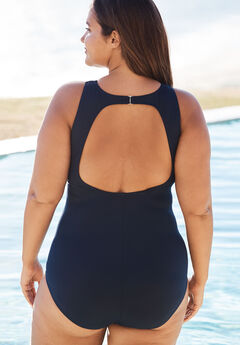 43ba735a5e8 Plus Size One Piece Swimsuits for Women | Woman Within