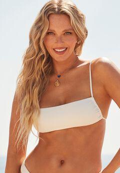 Camille Kostek 90s Baby Bikini Top, PEARL