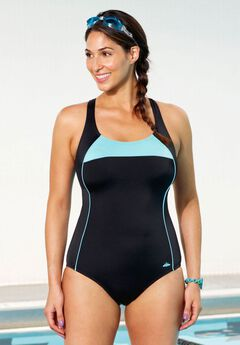 Cross Back Maillot by Aquabelle, , hi-res