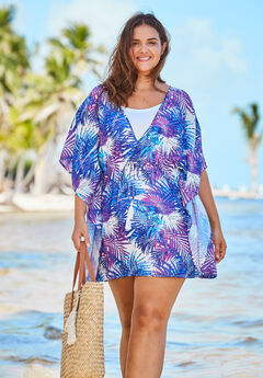 Beaded Tassel Cover Up,