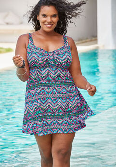 Retro Swim Dress,
