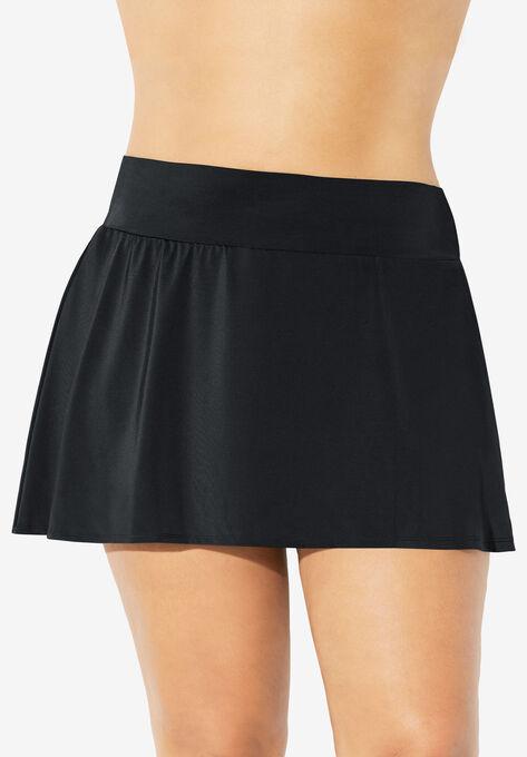 b789a06f44 High-Waist Swim Skirt by Trimshaper® by Miraclebrand| Plus Size Swim ...