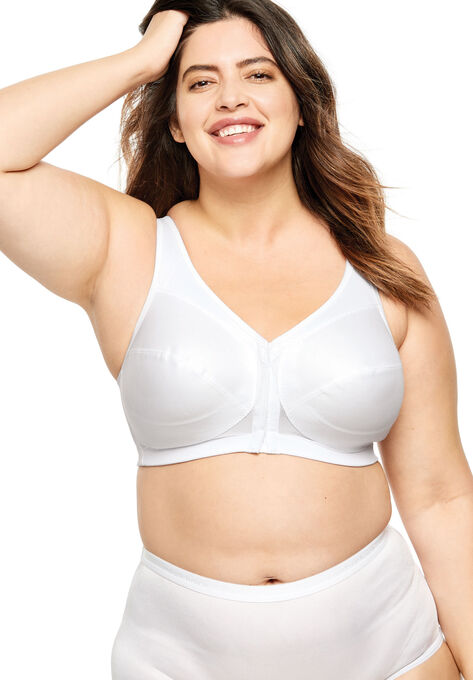 6590a41ca Glamorise® Magic Lift® Front-Close Posture Wireless Bra  1265