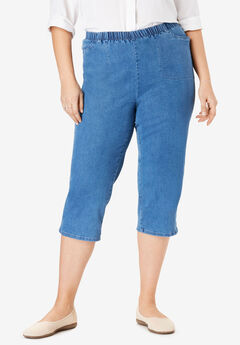 Capri Fineline Jean, LIGHT STONEWASH
