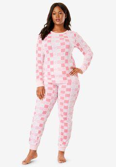 Thermal Knit Sleep Tee by Comfort Choice®, , hi-res